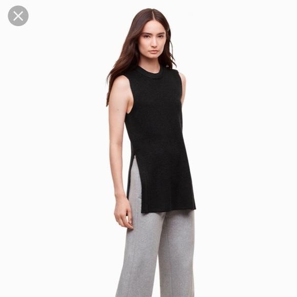 Aritzia Wilfred palmier sleeveless sweater XXS